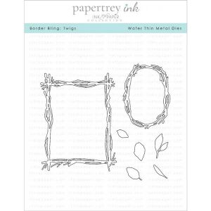 Papertrey Ink Border Bling: Twigs Dies