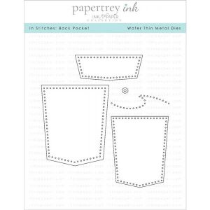 Papertrey Ink In Stitches: Back Pocket Dies