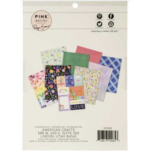 "Pink Paislee Bloom Street Paper Pad 6"" x 8"" class="