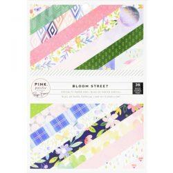 """Pink Paislee Bloom Street Paper Pad 6"""" x 8"""""""