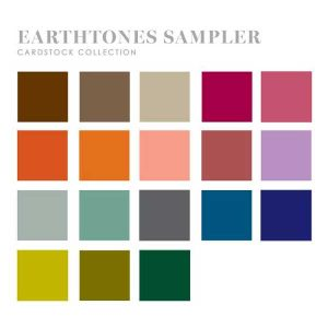 Papertrey Ink Perfect Match Earthtones Cardstock Sampler (36 sheets)