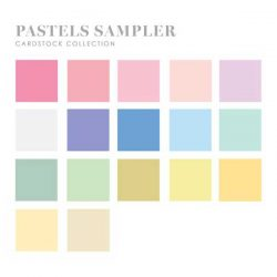 Papertrey Ink Perfect Match Pastel Cardstock Sampler (34 sheets)