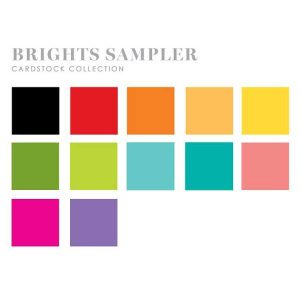 Papertrey Ink Perfect Match Brights Cardstock Sampler (24 sheets)