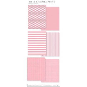 Papertrey Ink Bitty Big Paper Collection: Pale Peony