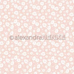 Alexandra Renke Calm Spring Design Paper - Spring Flower Background Pink