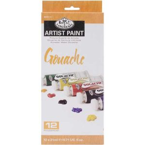 "Royal Brush Gouache Acrylic Paints - 12 colors <span style=""color:red;"">Reserve – more on the way</span>"