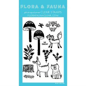 Flora & Fauna Mushroom Forest Stamp Set