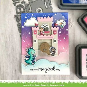 Lawn Fawn Tiny Fairy Tale Stamp class=