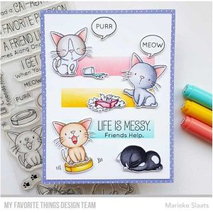 My Favorite Things Cat-astrophe Stamp Set class=