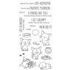 My Favorite Things Cat-astrophe Stamp Set