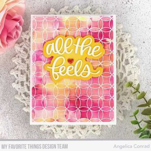 My Favorite Things Circle Celebration Background Stamp class=