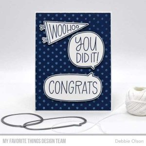 My Favorite Things Splotchy Dots Background Stamp class=