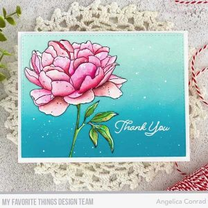 My Favorite Things Peony Perfection Stamp class=