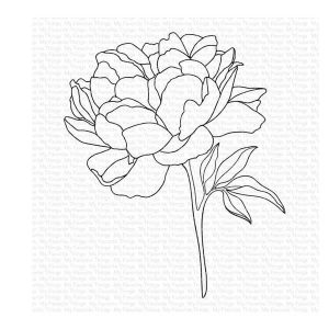 My Favorite Things Peony Perfection Stamp