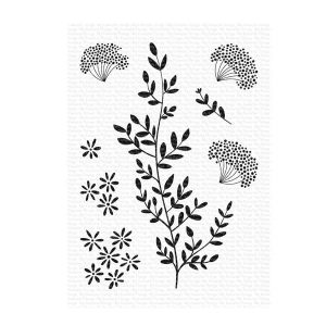 My Favorite Things Dandelion Greenery Stamp