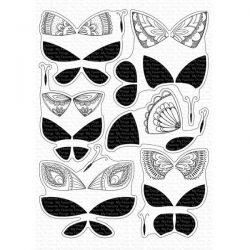 My Favorite Things Brilliant Butterflies Stamp