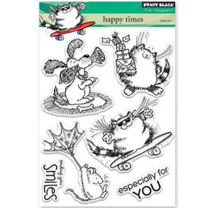 Penny Black Happy Times Stamp Set