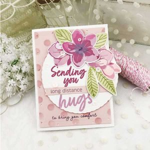 Papertrey Ink Just Sentiments: Hugs Stamp Set class=