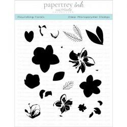 Papertrey Ink Flourishing Florals Stamp