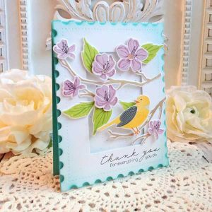 Papertrey Ink Feathered Friends Mini 1 Stamp Set class=