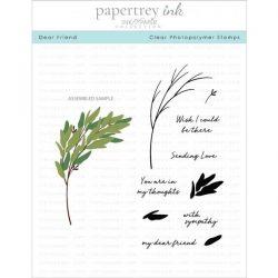 Papertrey Ink Dear Friend Stamp Set