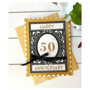 Papertrey Ink Vintage Postage Sentiments Stamp Set class=