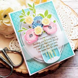 Papertrey Ink Inside Greetings: Sending Hugs Mini Stamp Set class=