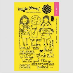 Waffle Flower Little Baker Stamp Set