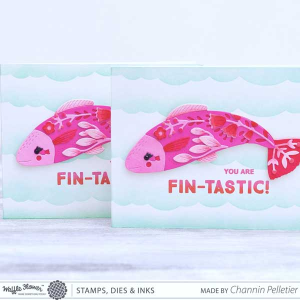 Waffle Flower Make A Fish Stamp Set - The Foiled Fox