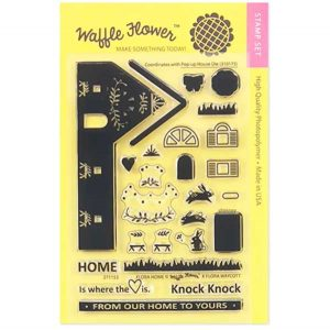 Waffle Flower Flora Home Stamp