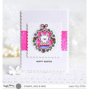 Waffle Flower Hoppy Stamp Set class=