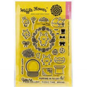 Waffle Flower Hoppy Stamp Set
