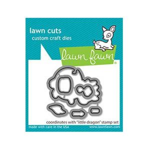 Lawn Fawn Little Dragon Lawn Cuts