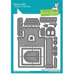 Lawn Fawn Build-A-Castle Lawn Cuts