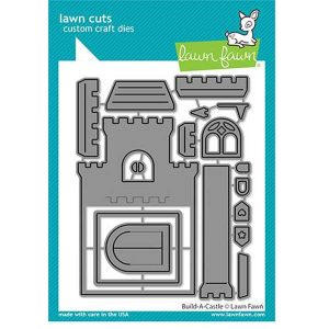 Lawn Fawn Build-A-Castle Lawn Cuts