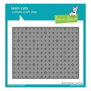 Lawn Fawn Sparkle Backdrop Lawn Cuts