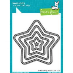 Lawn Fawn Just Stitching Stars Lawn Cuts