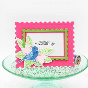 Papertrey Ink Feathered Friends Mini 1 Die class=