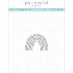 Papertrey Ink Playful Patterns: Rainbow Die