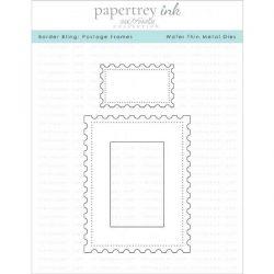 Papertrey Ink Border Bling: Postage Frames Dies