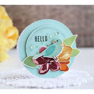 Papertrey Ink Love to Layer: Scalloped Circle Die class=
