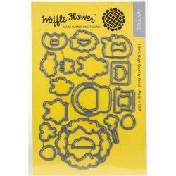 Waffle Flower Hoppy Die Set