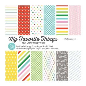 "My Favorite Things Positively Preppy Paper Pad - 6"" x 6"""