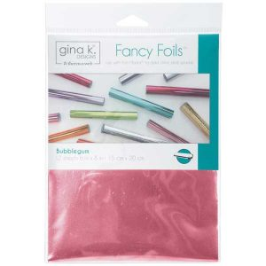 Gina K Designs Fancy Foils - Bubblegum class=