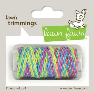 Lawn Fawn Trimmings Sparkle Hemp Cord - Unicorn Tail