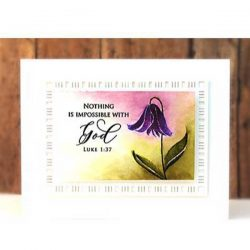 Penny Black Soulful Silhouettes Stamp