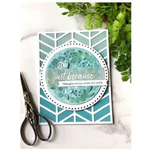 Papertrey Ink Just Sentiments: Just Because Mini Stamp class=