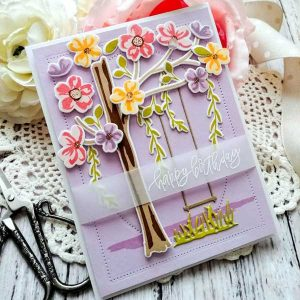 Papertrey Ink Floral Breeze Stamp Set class=