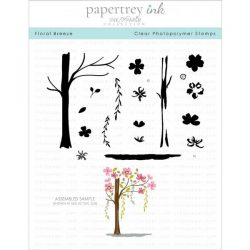 Papertrey Ink Floral Breeze Stamp Set
