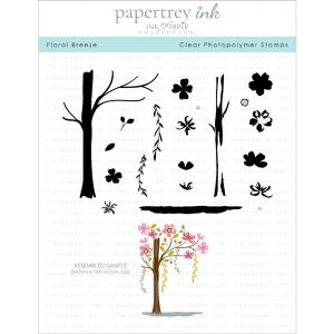 Papertrey Ink Floral Breeze Stamp Set